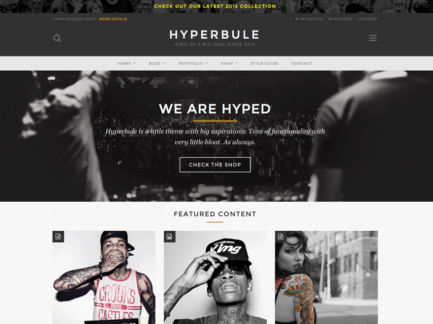 Hyperbule - Wordpress Theme
