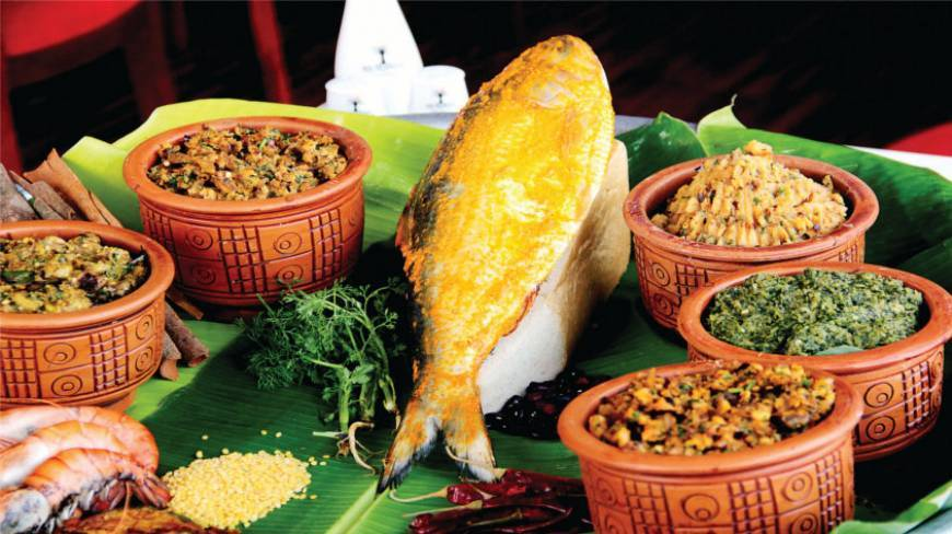 pohela boishakh foods with hilsha fish