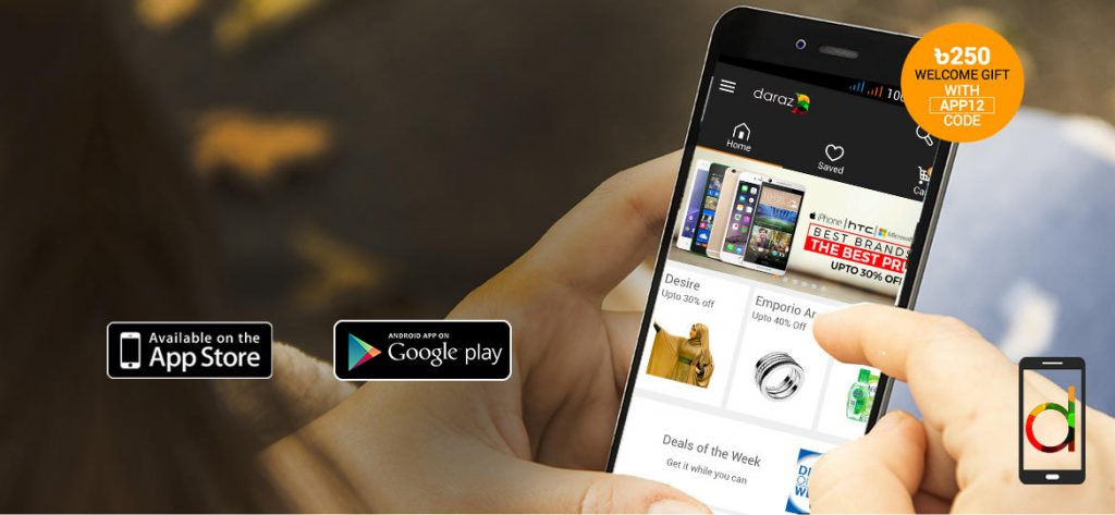 online shopping from mobile apps
