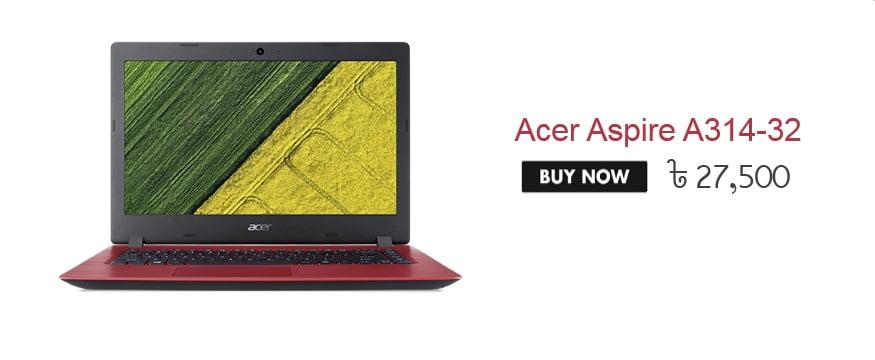 Acer Aspire A314-32 price
