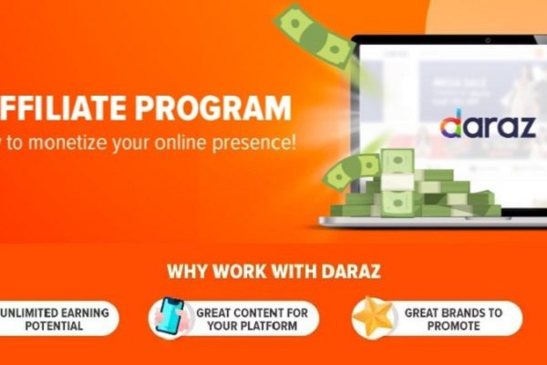 earn with daraz affiliate program