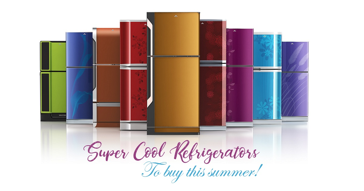 Super Cool Refrigerators to buy this summer