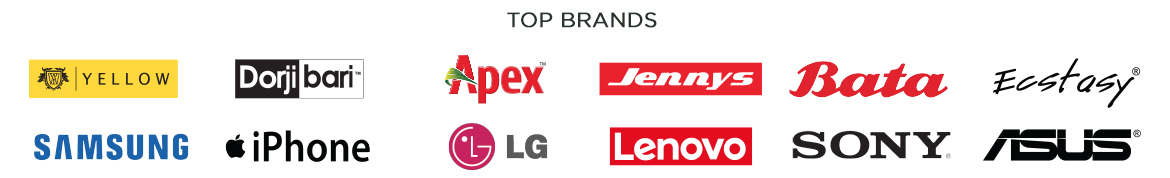 top brands at daraz bangladesh