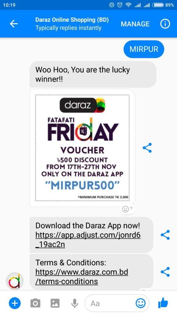 mobile apps of daraz bd