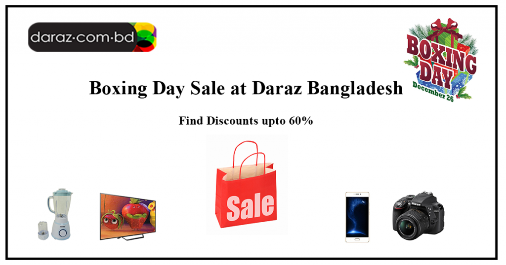 Boxing Day Flash Sale at Daraz BD