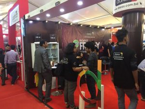 Daraz online shop at digital fair 2017
