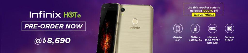 infinix hot 5 price in bd