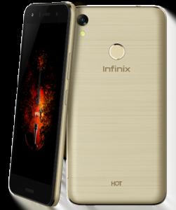 infinix hot 5 gold model