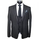stripe suit for men