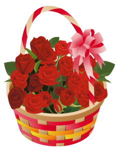 valentine's day flower box