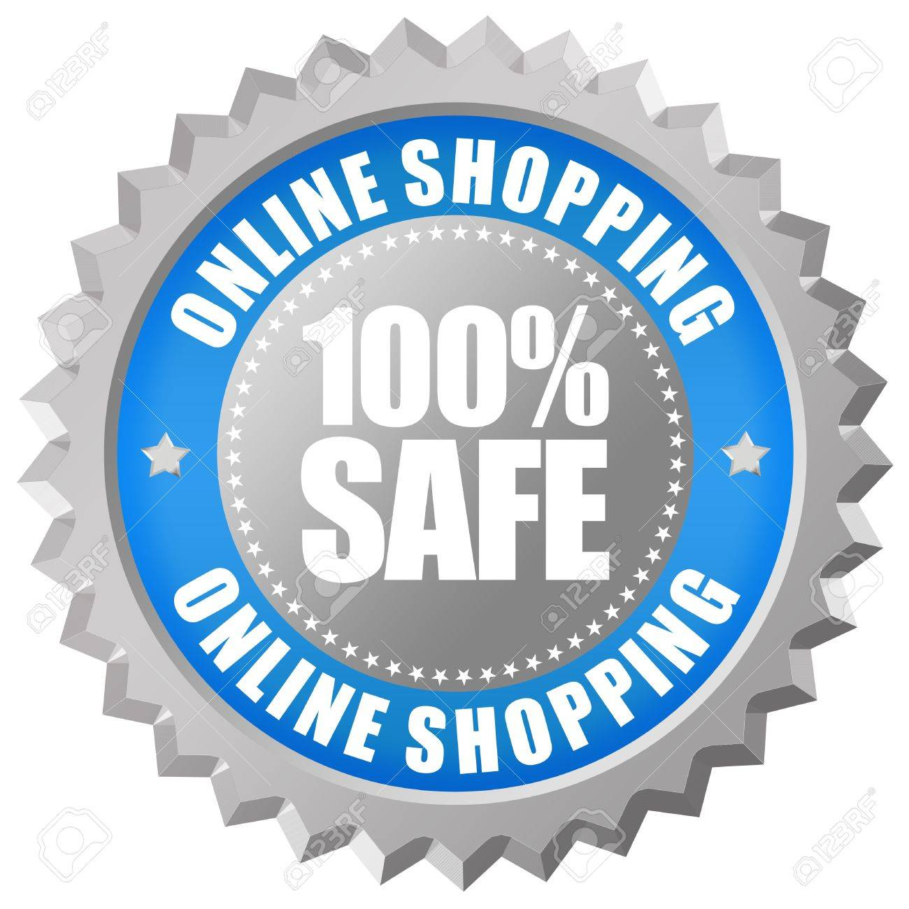 100% safe online shopping