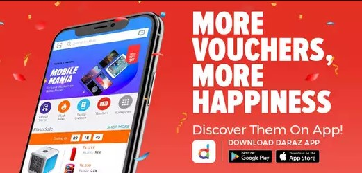 Get More Vouchers from Daraz