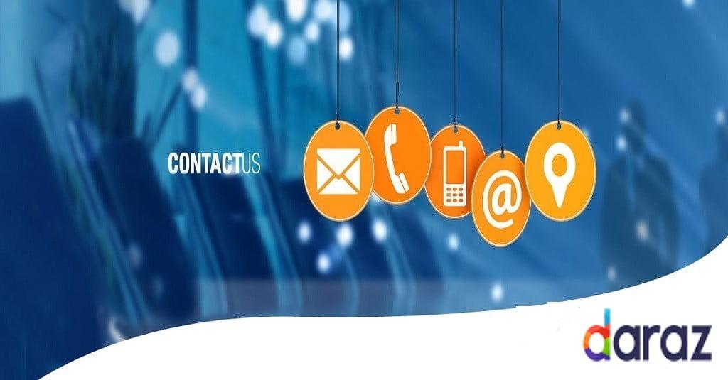 contact us by Daraz BD call center