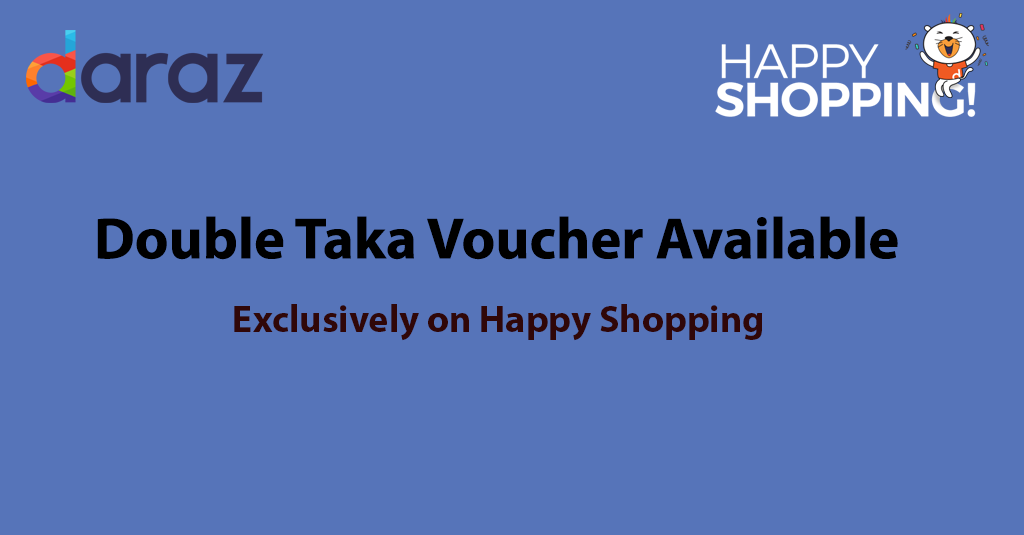 double taka vaoucher for happy shopping