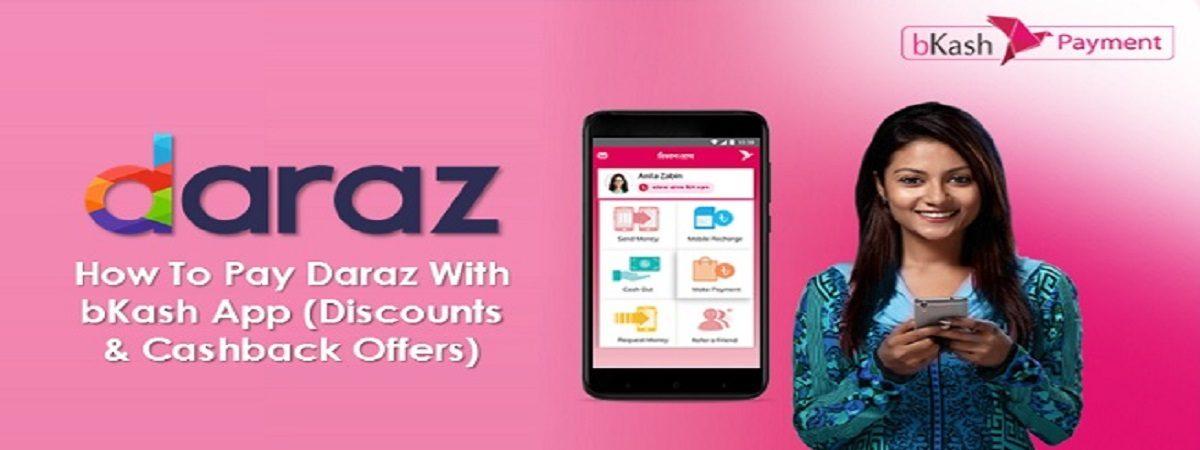 pay daraz with bKash