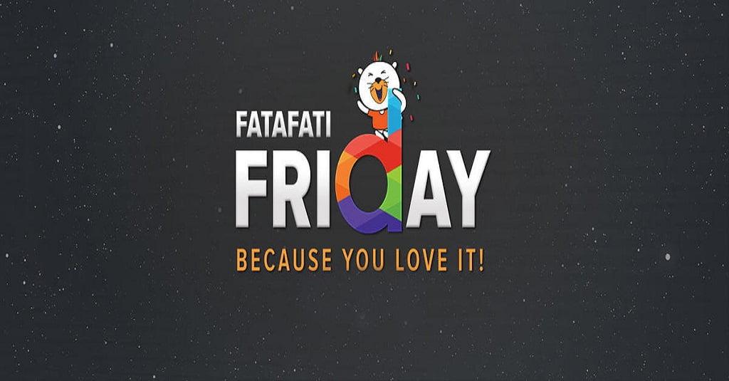 Daraz Fatafati Friday 2018