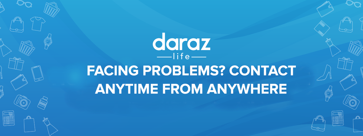 contact anytime on daraz.com.bd