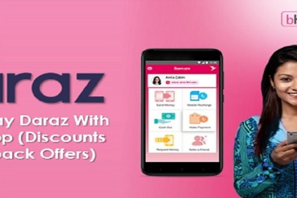 pay daraz with bkash - daraz.com.bd