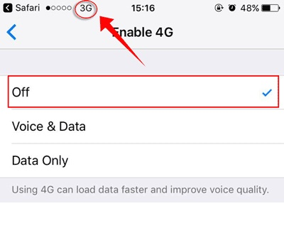 Turn Off 3G Data Connection When Not In Use