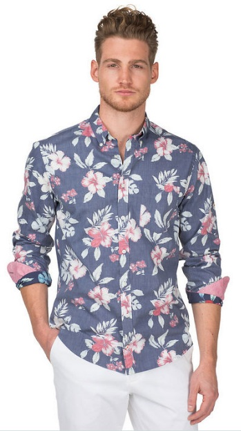 mens sunner fashion casual shirt