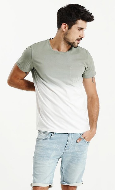 mens sunner fashion t-shirt