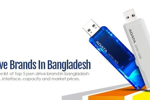 Top 5 Pen Drive Brands in Bangladesh