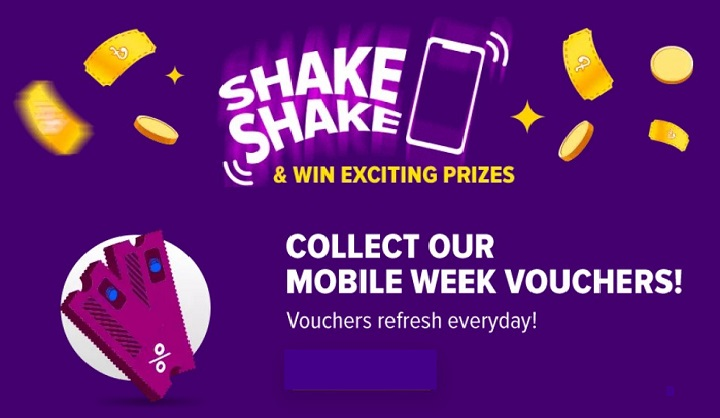 shake shake- daraz mobile week