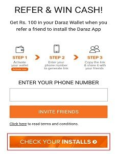 Daraz Referral Program - daraz bondhu