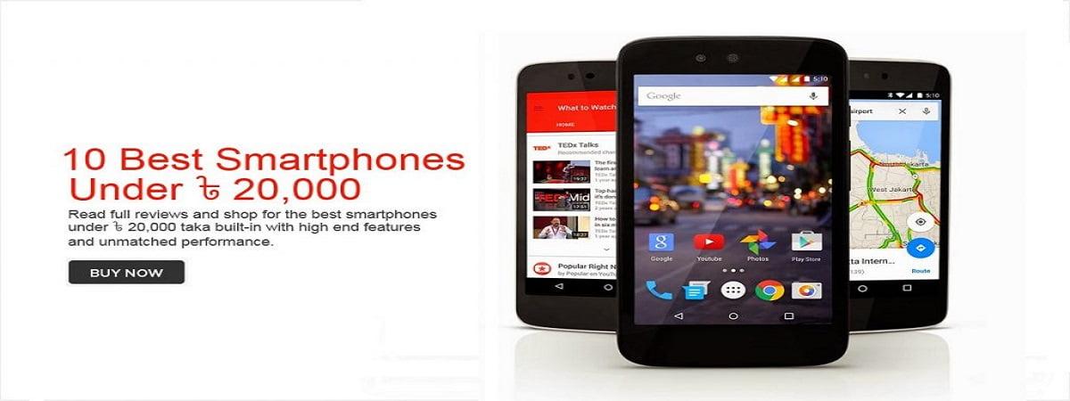 best smartphones under 20000 taka - daraz.com.bd
