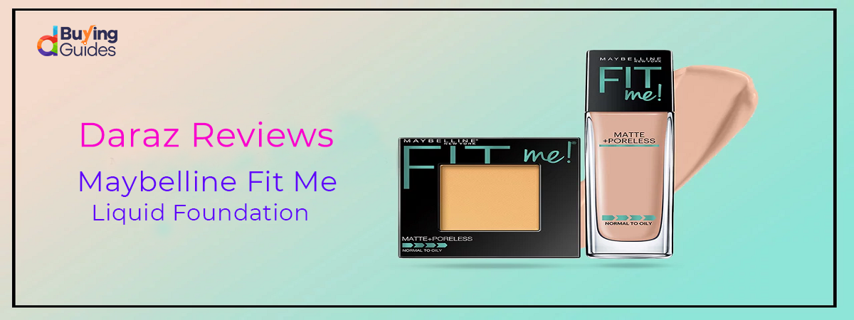 Maybelline Fit Me Liquid Foundation Image