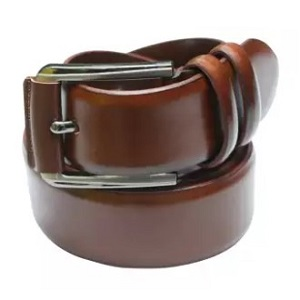 chocolate leather belt - daraz.com.bd