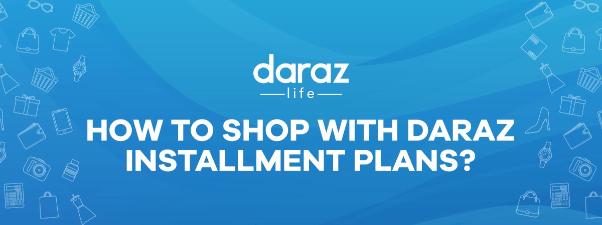 how to get emi on daraz