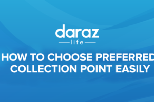 daraz collection point address