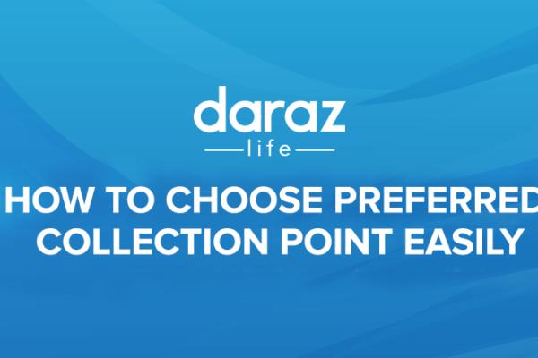 daraz collection point address
