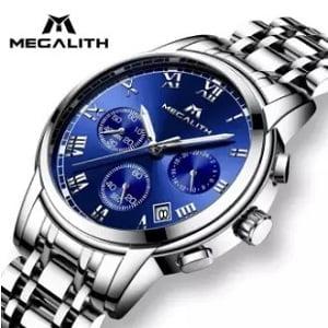 megalith chronograph watch - daraz.com.bd