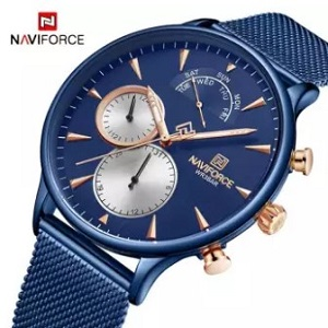 naviforce quartz watch - daraz.com.bd