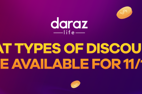 enjoy enormous discount offers on Daraz 11.11 Sale