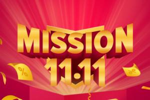 daraz 11.11 sale mission