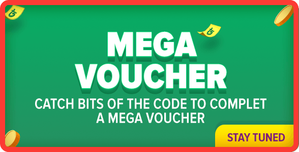 Mega Vouchers for 12.12 campaign