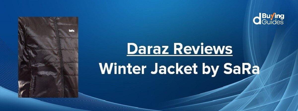 order SaRa black jacket on daraz.com.bd