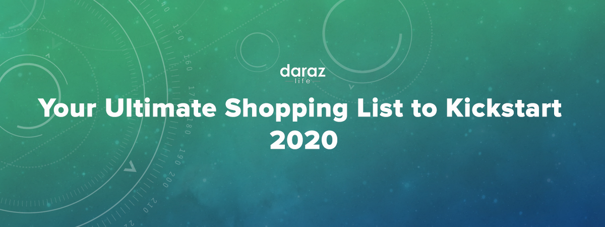 Your shopping list before 2020