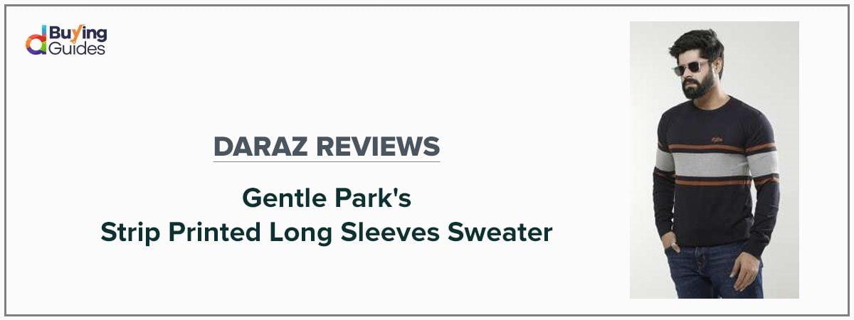gentle park sweater review-daraz.com.bd