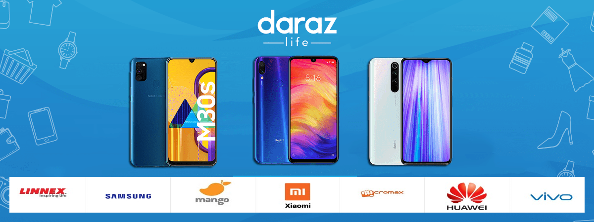 buy smartphones from daraz.com.bd at best price