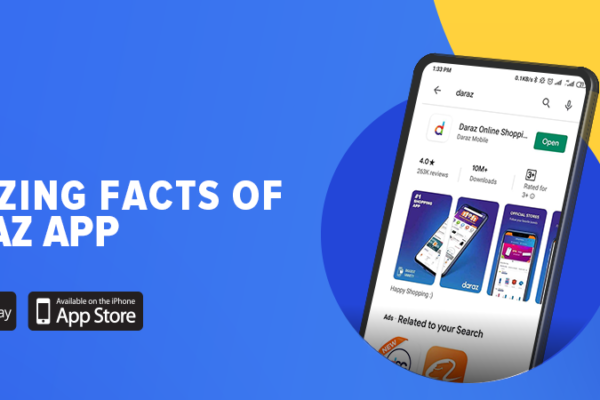 enjoy amazing features and facts of Daraz App