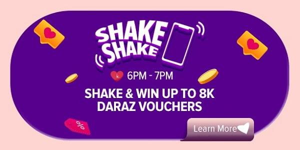 enjoy Shake Shake voucher of Valentine's Day campaign