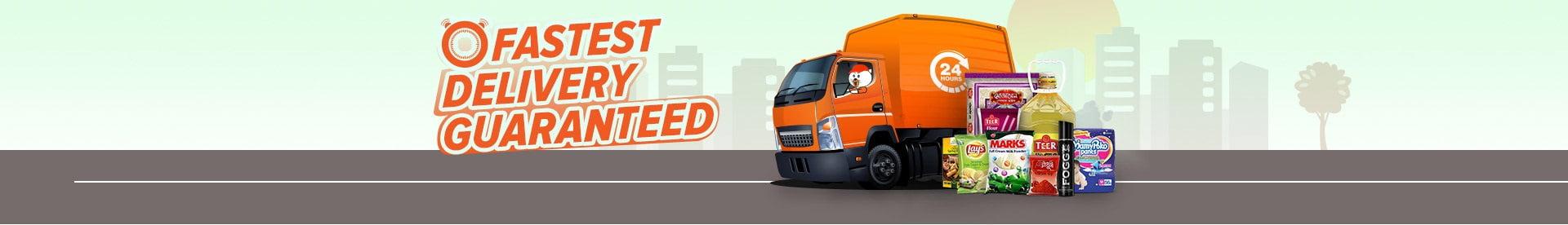 fastest grocery delivery-daraz.com.bd