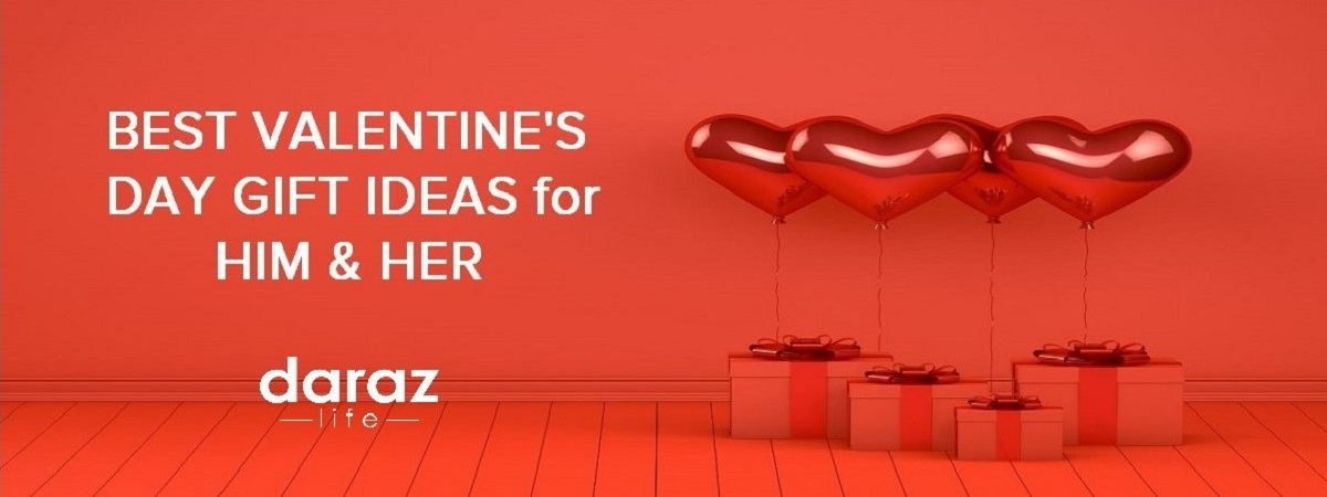 enjoy unbelievable discount offers and vouchers from Daraz Valentine's Day Sale Campaign
