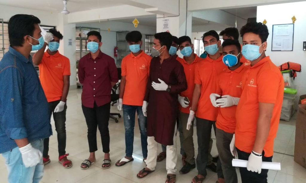 safest product delivery during coronavirus- daraz.com.bd