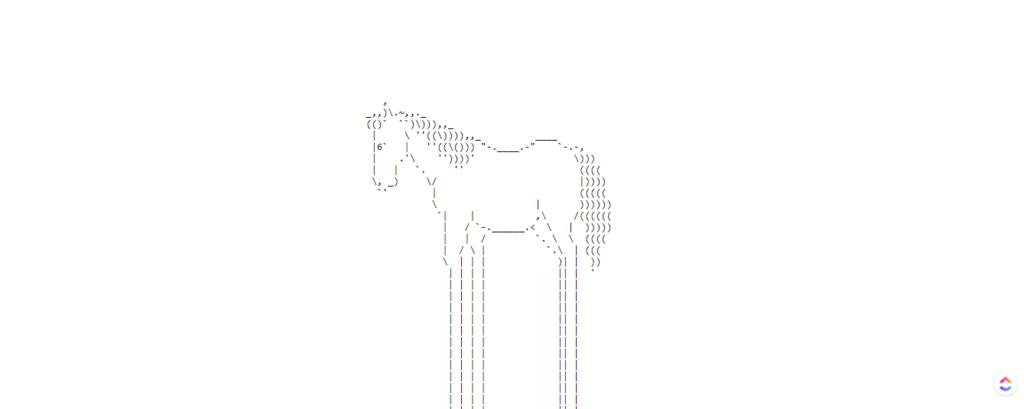 endless horse