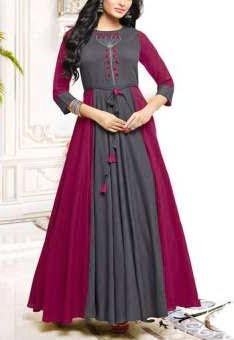 Linen salwar kameez-daraz.com.bd